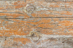 Vintage painted and weathered wooden plank. Natural wood texture Stock Photo
