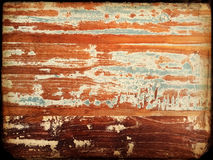 Vintage painted wood background Stock Image