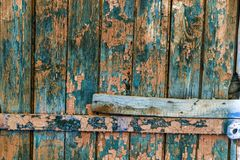 Vintage painted wooden background texture of wooden weathered ru stock image