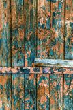 Vintage painted wooden background texture of wooden weathered ru stock photography