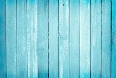 Vintage painted wooden wall background, texture of blue pastel color with natural patterns for design art work royalty free stock image