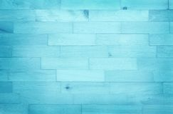 Vintage painted wooden wall background, texture of blue pastel color with natural patterns for design art work royalty free stock photo