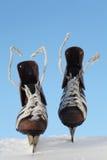 Vintage pair of mens  skates Stock Photo