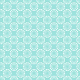 Vintage pale blue seamless pattern. Stock Images