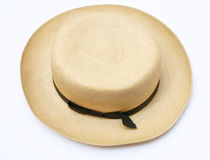 Vintage panama hat Royalty Free Stock Images