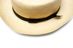 Vintage panama hat Royalty Free Stock Photo