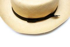 Vintage panama hat royalty free stock photo