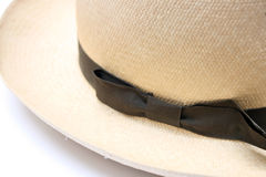 Vintage panama hat Stock Photography