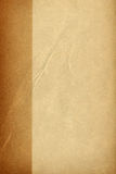 Vintage paper. Brown old paper with cracks royalty free stock image