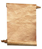Vintage paper. Background isolated on white royalty free stock images