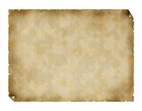 Vintage paper. Vintage burned textured paper background Stock Images