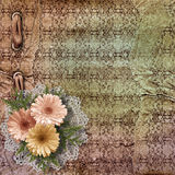 The vintage paper background royalty free illustration