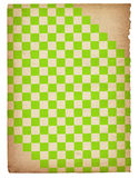 Vintage paper background. Chessboard style vintage paper background Stock Photos