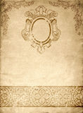 Vintage paper background. Stock Photos