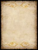 Vintage Paper Background with patterns Royalty Free Stock Image