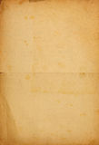 Vintage paper background with text imprint stock photos