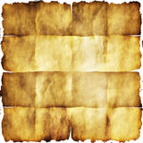Vintage paper with burn edges Royalty Free Stock Image