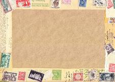 Vintage paper Stock Image