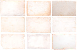 Vintage paper collection Royalty Free Stock Images