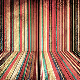 Vintage paper with color striped Stock Photos