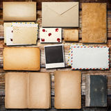 Vintage paper for correspondence royalty free stock image