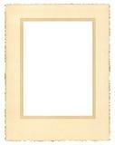 Vintage Paper Frame Stock Images