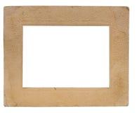 A vintage paper frame Stock Image