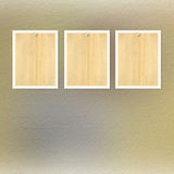 Vintage paper with grunge frames for photos Royalty Free Stock Photography