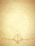 Vintage Paper With Monogram Royalty Free Stock Images