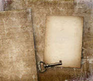 Vintage paper with plenty of copy space stock images