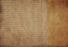 Grunge background with space. Vintage paper with space for text or image Stock Photos