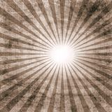 Vintage paper with sunburst Stock Photo