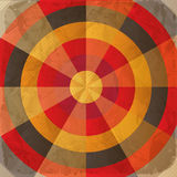 Vintage paper target Stock Photos