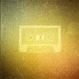 Vintage paper texture, art music background Stock Image