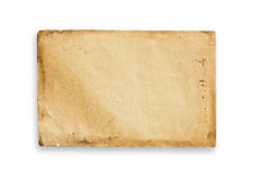Vintage paper texture, clipping path. Royalty Free Stock Photo