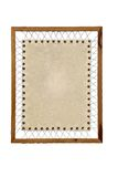 Vintage Paper wooden frame Royalty Free Stock Photos