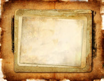 Vintage papers. Texture of old grunge  papers Royalty Free Stock Images