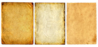 Vintage Papers Set Royalty Free Stock Photo