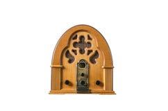 Vintage par radio de joueur vieux Image stock