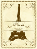 Vintage Paris ilustração do vetor