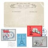 Vintage Paris and France Stock Photos