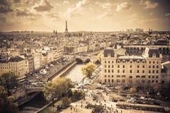 Vintage Paris Royalty Free Stock Photos