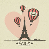 Vintage Paris Stock Photos
