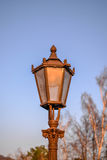 Vintage park lamp Royalty Free Stock Image