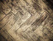 Vintage parquet floor. Nice grunge texture stock photo