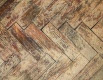 Vintage parquet floor Stock Image