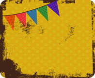 Vintage Party Background Royalty Free Stock Image
