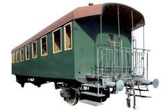 Vintage passenger rail car Royalty Free Stock Photo
