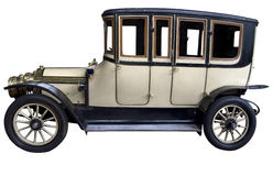 Vintage passenger van Royalty Free Stock Image