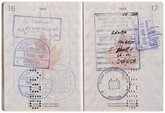 Vintage Passport royalty free stock photo